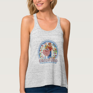 Candy Land - A Sweet Little Game Flowy Racerback Tank Top