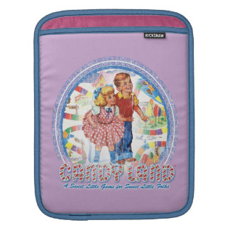 Candy Land - A Sweet Little Game Sleeves For iPads