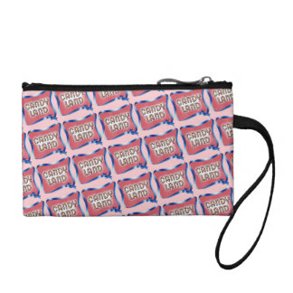 Candy Land Aged Logo Coin Wallet
