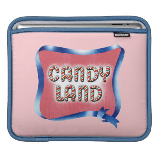 Candy Land Aged Logo Sleeve For iPads