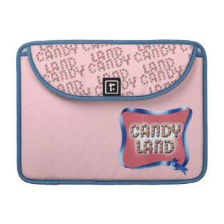 Candy Land Aged Logo Sleeve For MacBook Pro