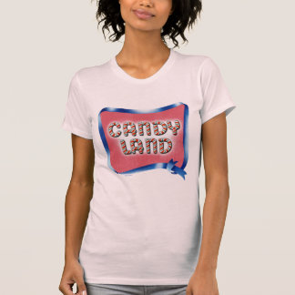 Candy Land Aged Logo Tees