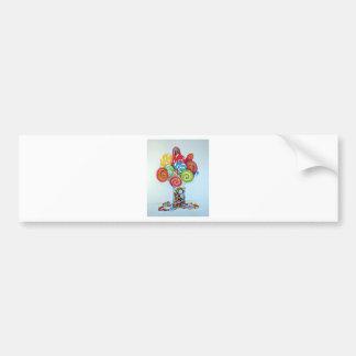 Candy land bumper sticker