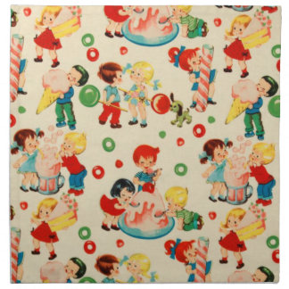 Candy Land Cloth Napkin