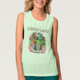 Candy Land Established 1945 Flowy Muscle Tank Top