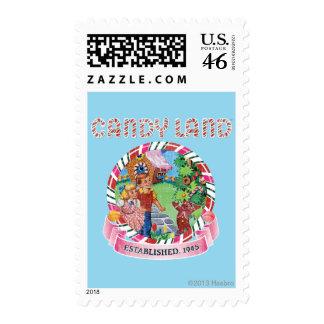 Candy Land Established 1945 Stamps