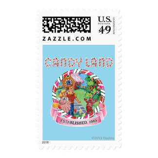 Candy Land Established 1945 Postage