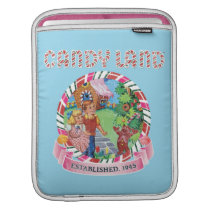 Candy Land Established 1945 Sleeve For iPads