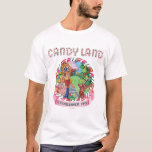 "Candy Land Established 1945 T-Shirt<br><div class=""desc"">Candy Land</div>"