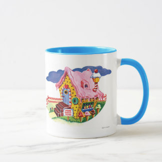 Candy Land Ginger Bread House Mug