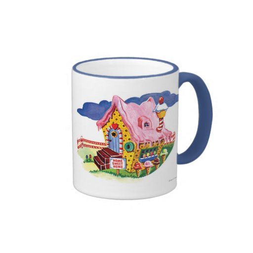 Candy Land Ginger Bread House Mugs