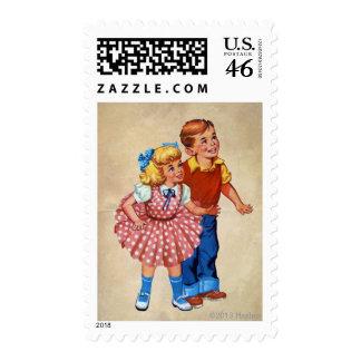 Candy Land Kids Stamp