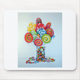 Candy land mouse pad