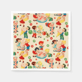 Candy Land Paper Napkin