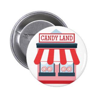 Candy Land Pinback Button