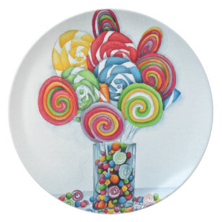 Candy land plate