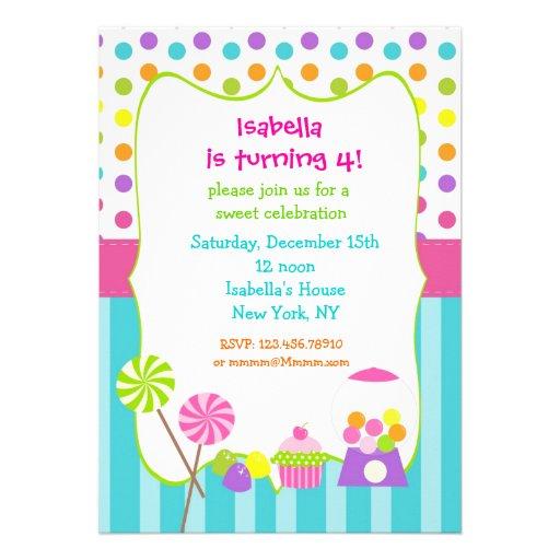 Candyland Invitation Ideas was beautiful invitations layout