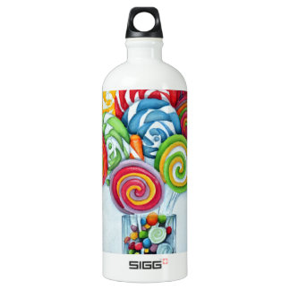 Candy land water bottle
