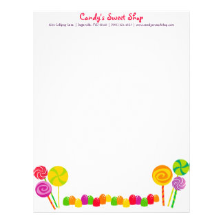 Candy Letterhead