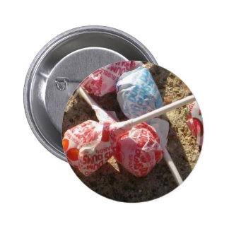 Candy Lolli Pops 2 Inch Round Button