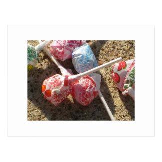 Candy Lolli Pops Postcard