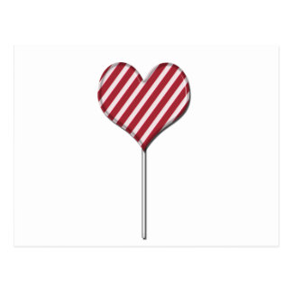 Candy lollipop greeting card