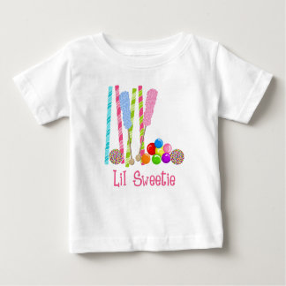 Candy, Lollipops and Gumballs Oh My Infant T-shirt