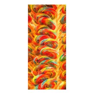 Candy - Lollipops Rack Card