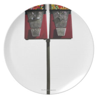 Candy machines party plates