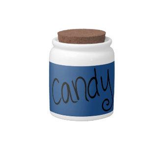Candy (marine) candy jar
