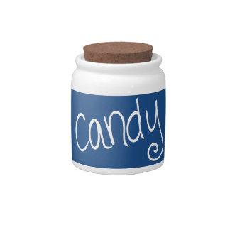 Candy (marine-rev) candy dish