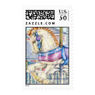 "'Candy"" Merry-Go-Round  US Postage Stamp"