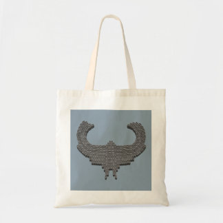 Candy Mint Eagle Mosaic Tote Bag