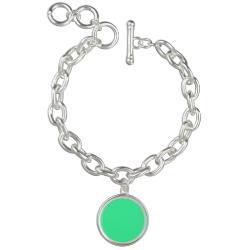 Candy Mint Green Charm Bracelets