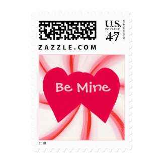Candy Mint Swirl, Hearts Valentine stamps
