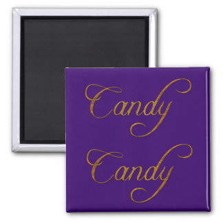 CANDY Name-Branded Gift Magnet