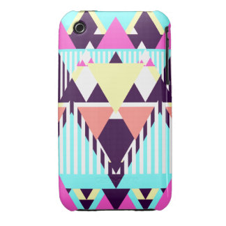 Candy Native Pattern iPhone 3 Case