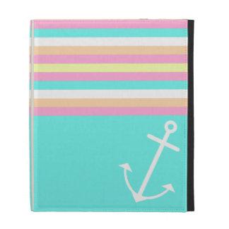 Candy Nautical iPad Folio Cover