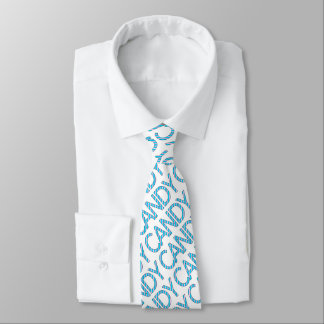 candy neck tie