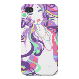 """Candy Necklace"" iphone 4 case"