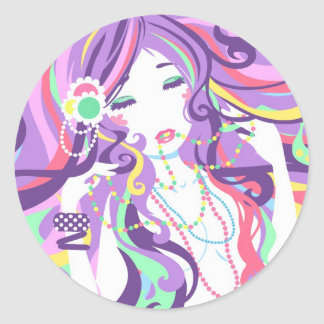 """Candy Necklace"" Sticker"