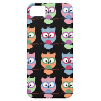 Candy Owls - Black iPhone SE/5/5s Case