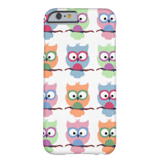 Candy Owls - White Barely There iPhone 6 Case