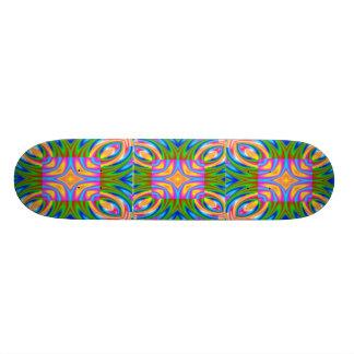 Candy Pane Geometrics Skateboard