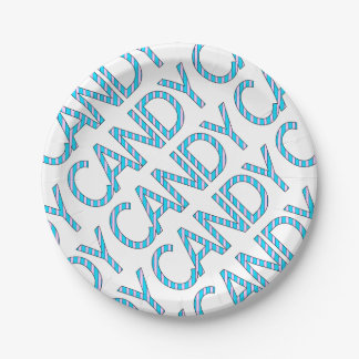 candy paper plate