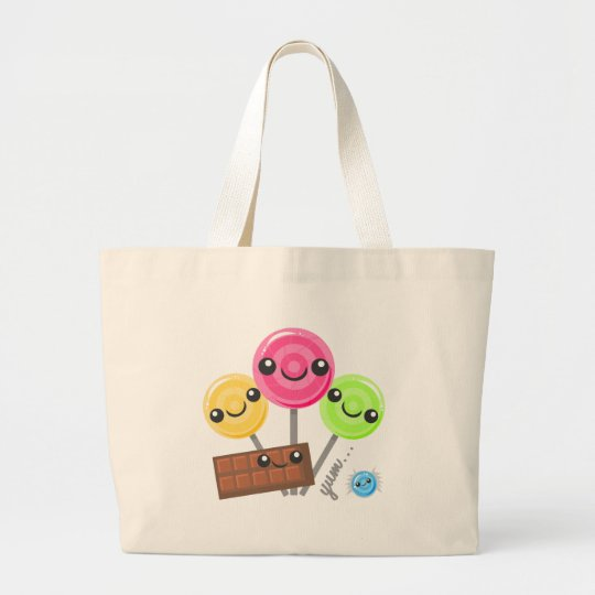 Candy Parade Large Tote Bag