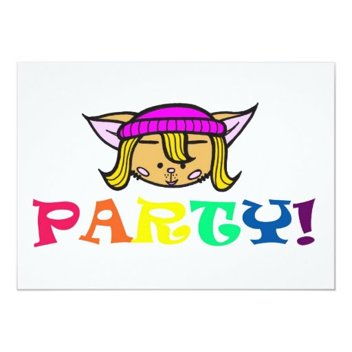 Candy/party! Card
