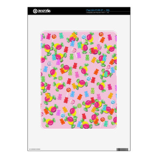 Candy pattern skins for iPad
