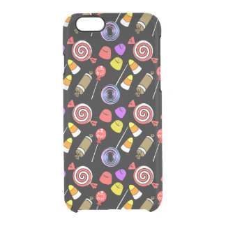 Candy Patterned Clear iPhone 6/6S Case