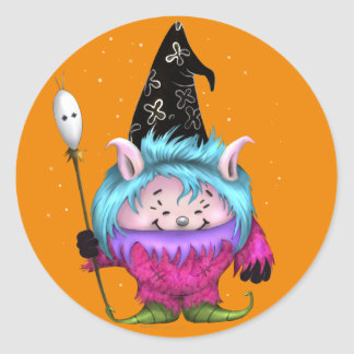 CANDY PET 1 HALLOWEE MONSTER  Auto-Collant Sticker